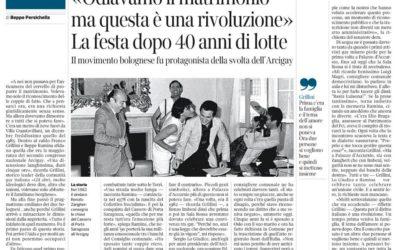 Unioni civili. La festa di Bologna dopo 40 anni di lotte