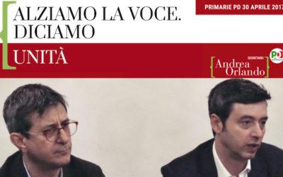 """Newsletter Sergio Lo Giudice: """"Speciale Primarie 30 aprile"""""""