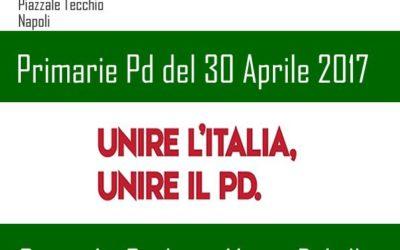 22.04.17 Napoli, ReteDem e SocialDem insieme per Orlando