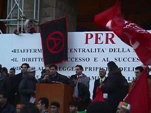 Manifestazione per la scuola pubblica, Bologna 1999