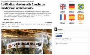medicinali cannabis